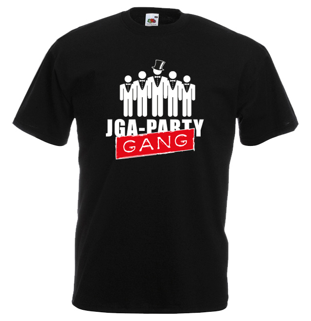 JGA Shirt die Party Gang